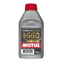 Motul RBF 660 Olio Liquido freni Racing DOT4 500ml Synt 100% Brake Fluid moto