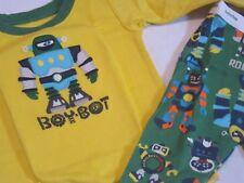 Baby Gap Robot Boybot 2 Piece Pajamas 6-12 Months NWT ~Mult. Sizes~