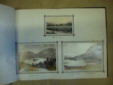 Antique Photo Album, containing Landscape Scenes of the Lake District and Furnes