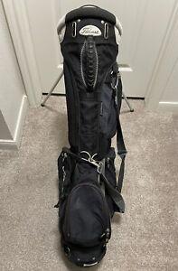 Vintage Titliest Golf Bag. 4 Way & 6 Pockets + Rain Hood + Carrying Strap (Read)