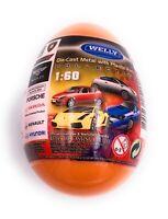 Autos en Huevos Sorpresa Porsche Ferrari Aston Lizenzsiert 1:60 Modelos