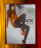 EXTRA LADIES WOMEN TIGHTS 80 DEN HOSIERY LINGERIE BY BLACK VELVET /2