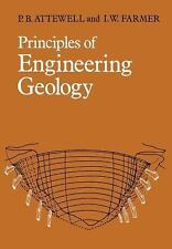 Principles of Engineering Geology by P. B. Attewell and I. W. Farmer (2011,...