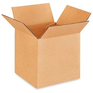 "ULINE 5 x 5 x 5"" Lightweight 32 ECT Corrugated Boxes"