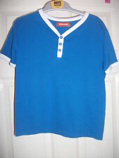 Boys Turquoise T-Shirt - BHS - 6 Years