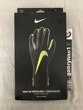 Nike Mercurial Touch Elite Goalkeeper Gloves Gs0356-010 Adult Unisex Size 10 Acc
