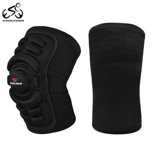 1 Pair Cycling Knee Pads MTB Mountain Bike Running Knee Brace Protective Guards