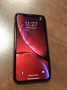 Apple iPhone XR (PRODUCT)RED - 64GB - (T-Mobile) A1984 (CDMA + GSM)