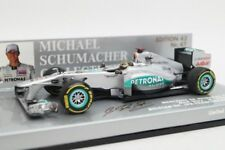 Mercedes W02 Schumacher 20 years Belgique Spa 2011 Minichamps 1/43 410110107