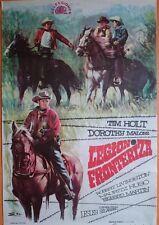 Cartel cine original años 60 western LEGION FRONTERIZA