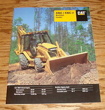 Original 1996 Caterpillar 436 C / IT Backhoe Loader Sales Brochure 96 Cat