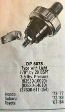 73 74 75 76 77 Honda Oil Light Switch