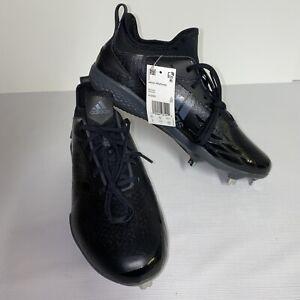 Adidas Adizero Afterburner V Dipped Men's Baseball Cleats AQ0085  Black Size 9