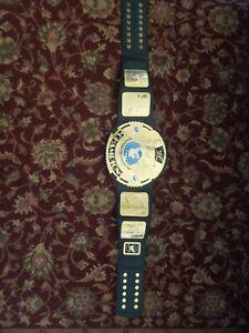 WWF ATTITUDE ERA BIG EAGLE CHAMPIONSHIP WRESTLING REPLICA BELT 2001 adult metal