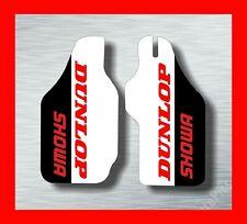 HONDA CR125 CR250 CR500 CRF250 CRF450 FORK GUARD GRAPHICS EVO MX