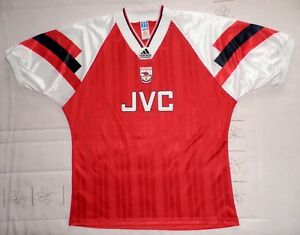 ADAMS authentic Adidas 1992 1993 shirt jersey maillot trikot Cup 92-93 ARSENAL