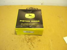 JOHN DEERE A 60 PISTON RING SET STD GENUINE OEM JOHN DEERE