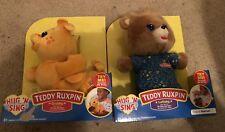 Teddy Ruxpin Lullaby Hug N Sing and Teddy Ruxpin Grubby Hug N Sing New 2018