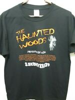 HALLOWEEN HAUNTED HOUSE WOODS I SURVIVED TEE T-SHIRT ADULT MEN'S SIZE LARGE 2013