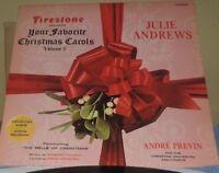 Julie Andrews Your Favorite Christmas Carols Volume 5 Presented by Firestone