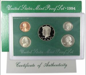 1994 S Proof Set U.S. Mint Original Government Packaging OGP Collectible