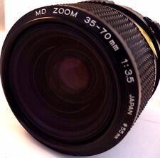 MINOLTA MD 35-70 mm F/3.5 Filtro de apertura constante Zoom Lente Inc.
