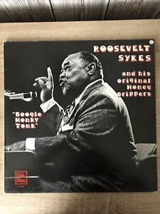 """Roosevelt Sykes And His Original Honey Dippers. """"Boogie Honky Tonk"""" LP"""
