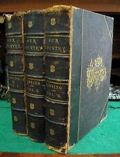 OUR COUNTRY 1877 Benson J. Lossing US History 500 Illustrations 3 VOLs Complete