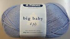 Patons Big Baby 4 Ply #2584 Slate Blue 100g Acrylic