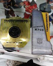Mp 08 grimlock masterpiece transformers sword + coin gift hasbro