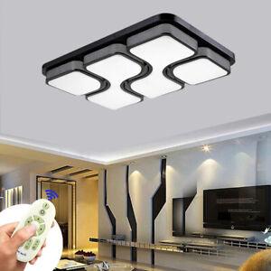 78W LED Dimmbar Deckenleuchte Wohnzimmer Flurleuchte Badleuchte Deckenlampe