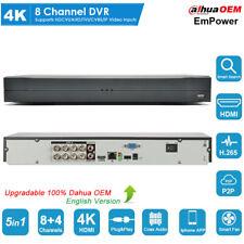 8 Channel 4K Uhd H.265+ Dvr Xvr Cvi/Tvi/Ahd/Cvbs/Ip 5in1 Digital Video Recorder