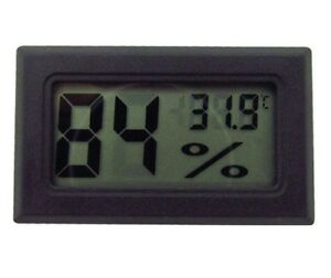 DIGITAL INCUBATOR HUMIDITY METER THERMOMETER FOR EGG HATCHING CHICKS