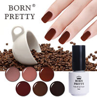 5ml BORN PRETTY Nail Art UV LED Gel Soak Off  Coffee Series Long-lasting