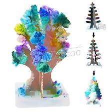 2pcs Magic Xmas Growing Tree Toy Boys Girls Novelty Gift Christmas Tree Decor