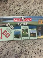 Monopoly Golf Edition Collector's Edition, Factory Sealed, New In Box