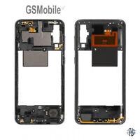 Carcasa Chasis Marco Middle Cover Negro Samsung Galaxy A50 2019 A505 Original