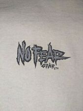 No fear vintage t-shirt. 90s single stitch. No rips, no holes, no stains.