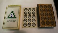 TUFFLINE CITIE SERVICE GAS COMPANY PLAYING CARDS