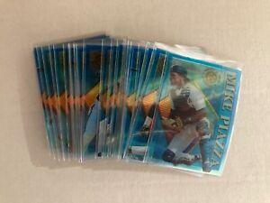1995 Stadium Club Baseball Clear Cut acetate set of 28