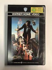 The Best Of John Belushi Ex-Rental Big Box VHS Tape English dutch subs Videoband