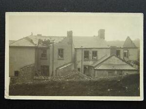 Wales Glamorgan PONTYPRIDD & TYPOON CYCLONE DAMAGE c1913 RP Postcard