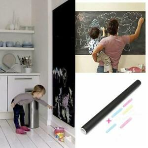 Blackboard PVC Chalkboard Wall Sticker Decal Memo Mural Removable Adhesive LC