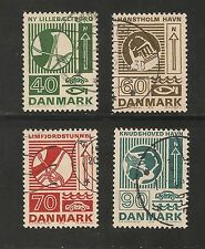 Denmark #508-512 VF USED - 1972 40 to 90 Engineering