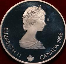 Uncirculated Proof 1986 Canada Silver $20 Foreign Coin