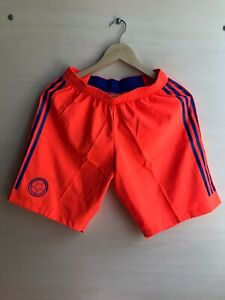 5+/5 AUTHENTIC Colombia team 2018/2019 away Size S Adidas shorts football soccer