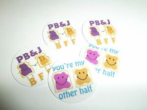 Pre Cut One Inch Bottle Cap Images  Peanut Butter and Jelly Free Shipping