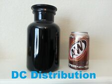 1 Liter UV Glass Apothecary Jar Blocks Sunlight Perfect for Storing Anything