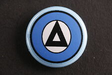 "Greek Democratic Army Greece DSE ΔΣΕ Communist Party Button 1"" Badge Antifascist"