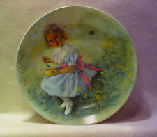 """LITTLE MISS MUFFET"" RECO COLLECTION *ARTIST JOHN MCCLELLAND*GOLD TRIM 8 INCHES"